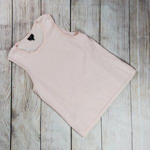 TALBOTS sweaters pure cashmere sleeveless pink